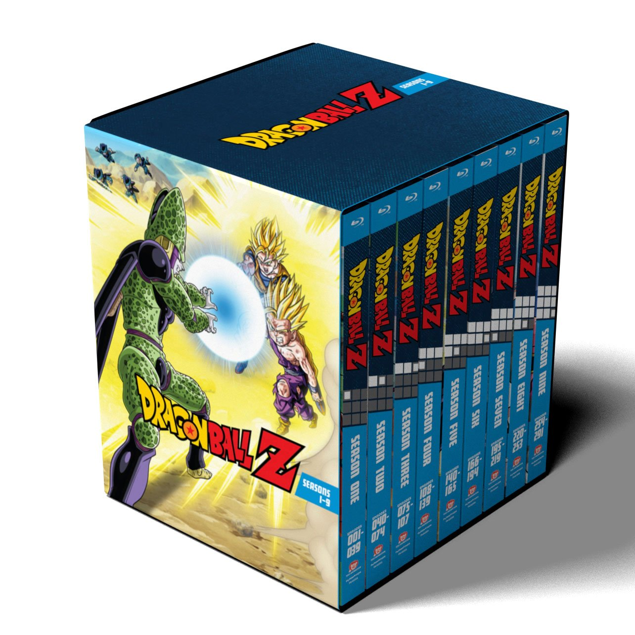 Dragon Ball Z: Seasons 1-9 Collection (Amazon Exclusive) [Blu-ray] by Funimation