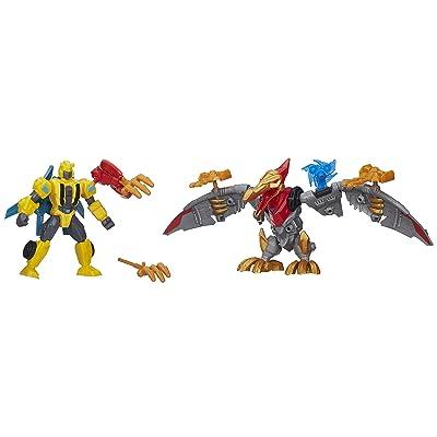 Transformers Hero Mashers Bumblebee & Strafe Mash Pack: Toys & Games