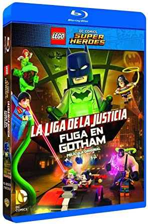 Lego Dc: La Liga De La Justicia: Fuga En Gotham Blu-Ray Blu ...