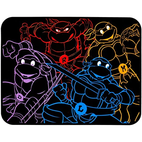 Teenage Mutant Ninja Turtles - Neon Fleece Blanket
