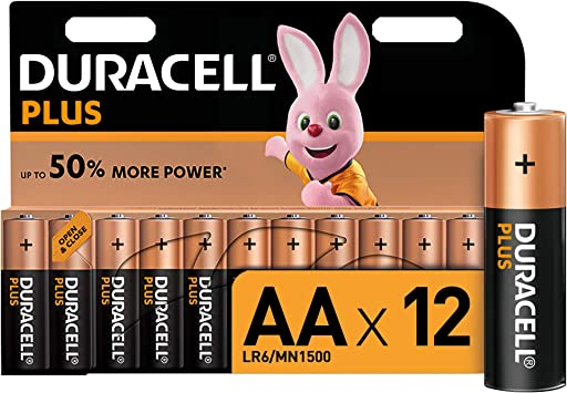 Duracell LR06 MX1500 - Plus AA, pilas alcalinas