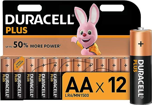 Duracell Plus Aa Mignon Alkaline Batterien Lr6 12er Elektronik