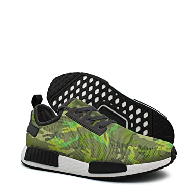 8aa43df768ec7 Amazon.com: Green Leafy Camo women long distance running shoes nmd ...
