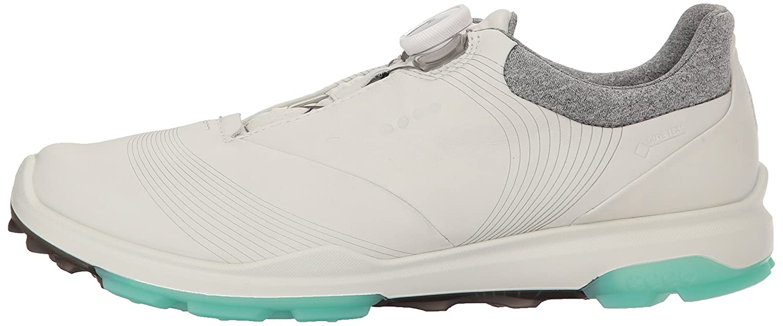 ECCO Women's Biom Hybrid 3 Boa Gore-Tex Golf Shoe B074H9CT8R 39 M EU (8-8.5 US) White/Emerald