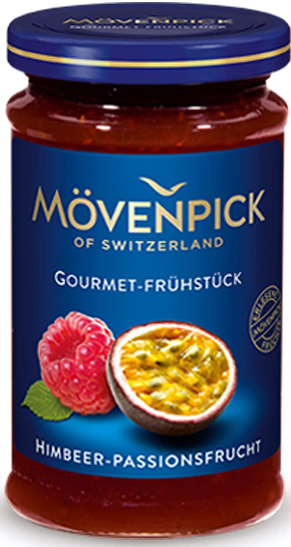 Raspberry and Passion Fruit Jam 250 g, Mövenpick / Germany