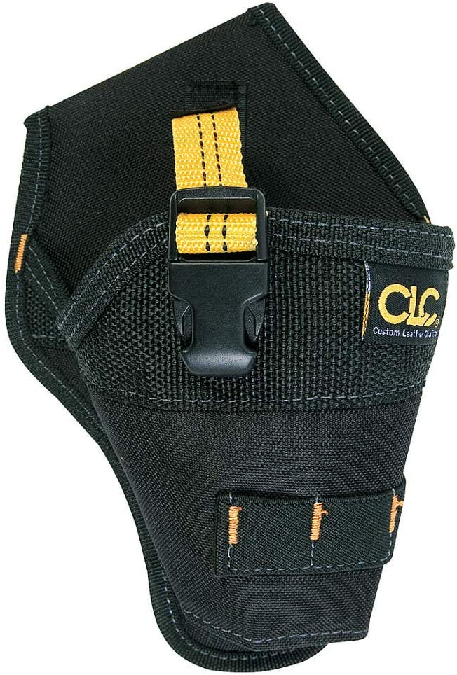 Professional Drill//Impact Driver Holster with BONUS Wood Drill Bits and 5M Tape Measure