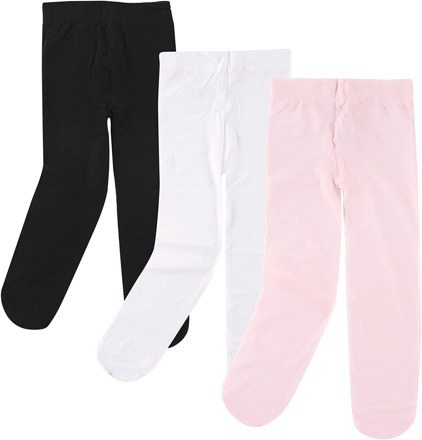 3 Pack Tights Luvable Friends baby-girls Nylon Tights
