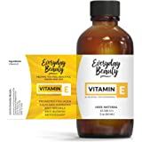 Vitamin E Oil - 100% Pure & Natural 2oz 47,500 IU - Unscented, Not a Blend, Derived From Wheat Germ - Reduce Wrinkles, Anti A