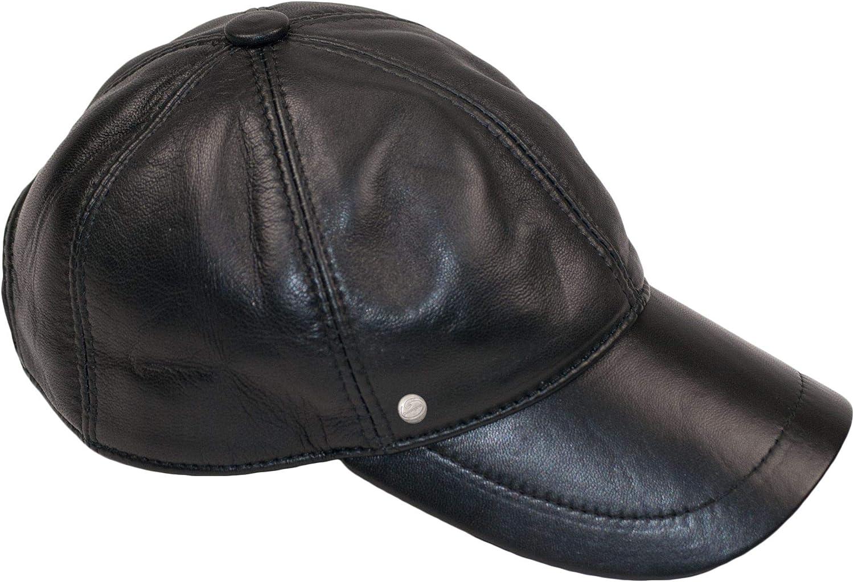 Dazoriginal Gorra Piel Béisbol Cuero Sombrero Hombre Gorras Planas Boina Mujer