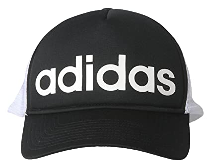 adidas Trucker - Gorra Unisex, Color Negro/Blanco/Blanco, Talla OSFW