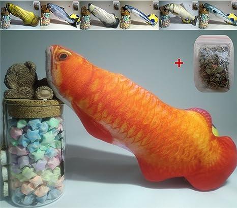 Maibar juguetes para gatos hierba gatera pescado juguetes gatos 3D inteligencia mariposa gatos hierba gatera Interactivo