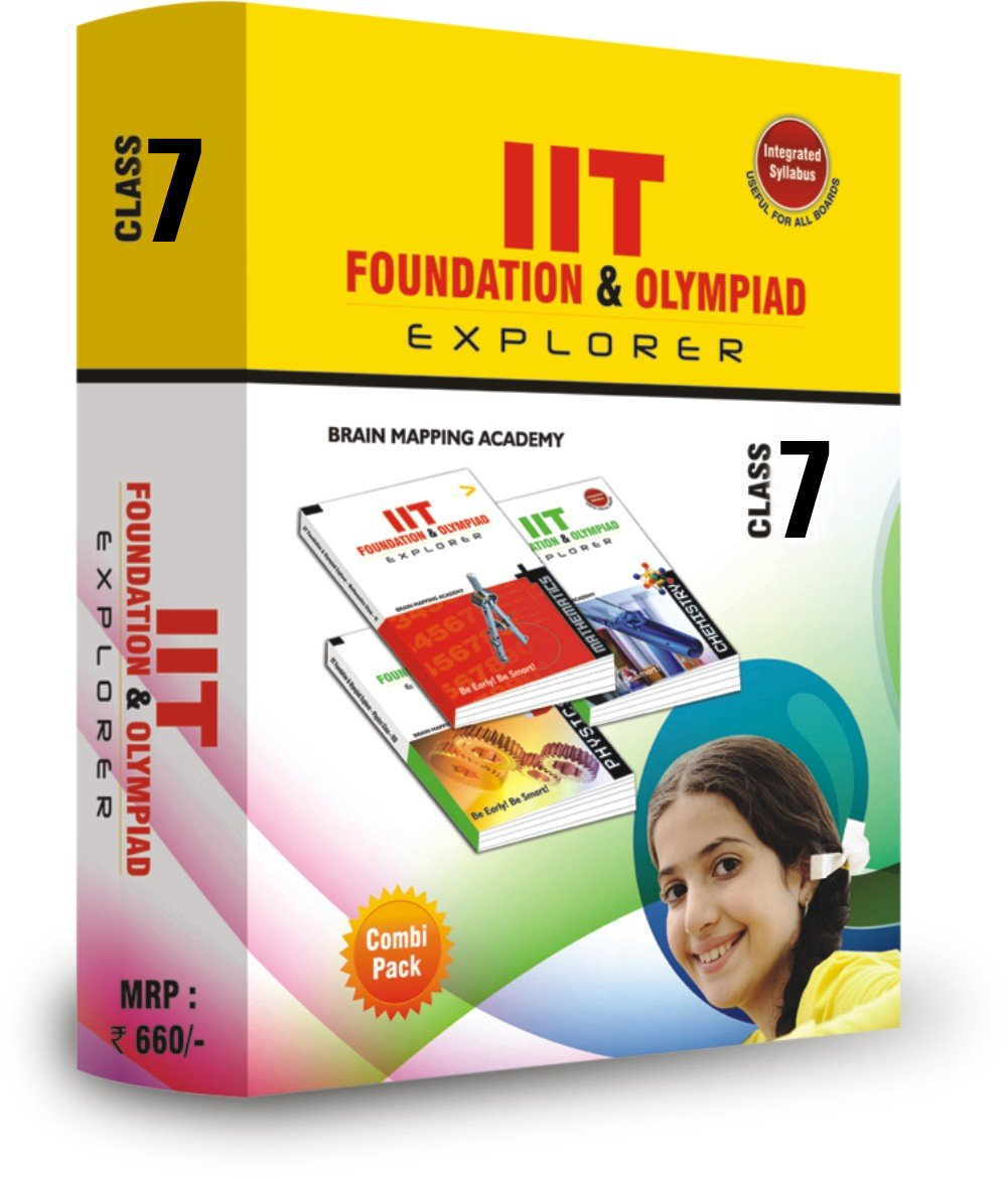 Read Online Combipack IIT foundation for Class - 7 pdf