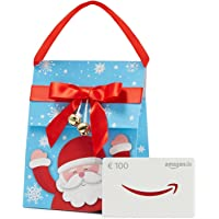 Amazon.de Geschenkkarte in Geschenktasche (Weihnachtsmann) - mit kostenloser Lieferung per Post
