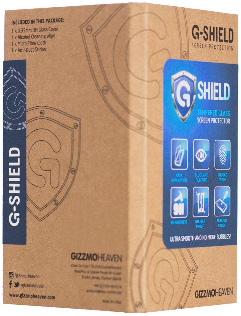Blanc G-Shield Film de Protection d/écran pour Huawei P9 en Verre Tremp/é Couverture Compl/ète