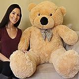 Yesbears Giant Teddy Bear 5 Feet Tan Color (Ultra-Soft)