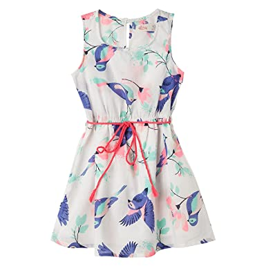 OFFCORSS Toddler Girls Sleeveless Cute Hot Summer Fall Blush Floral Prime Clothes Tank Funny Dresses Vestidos
