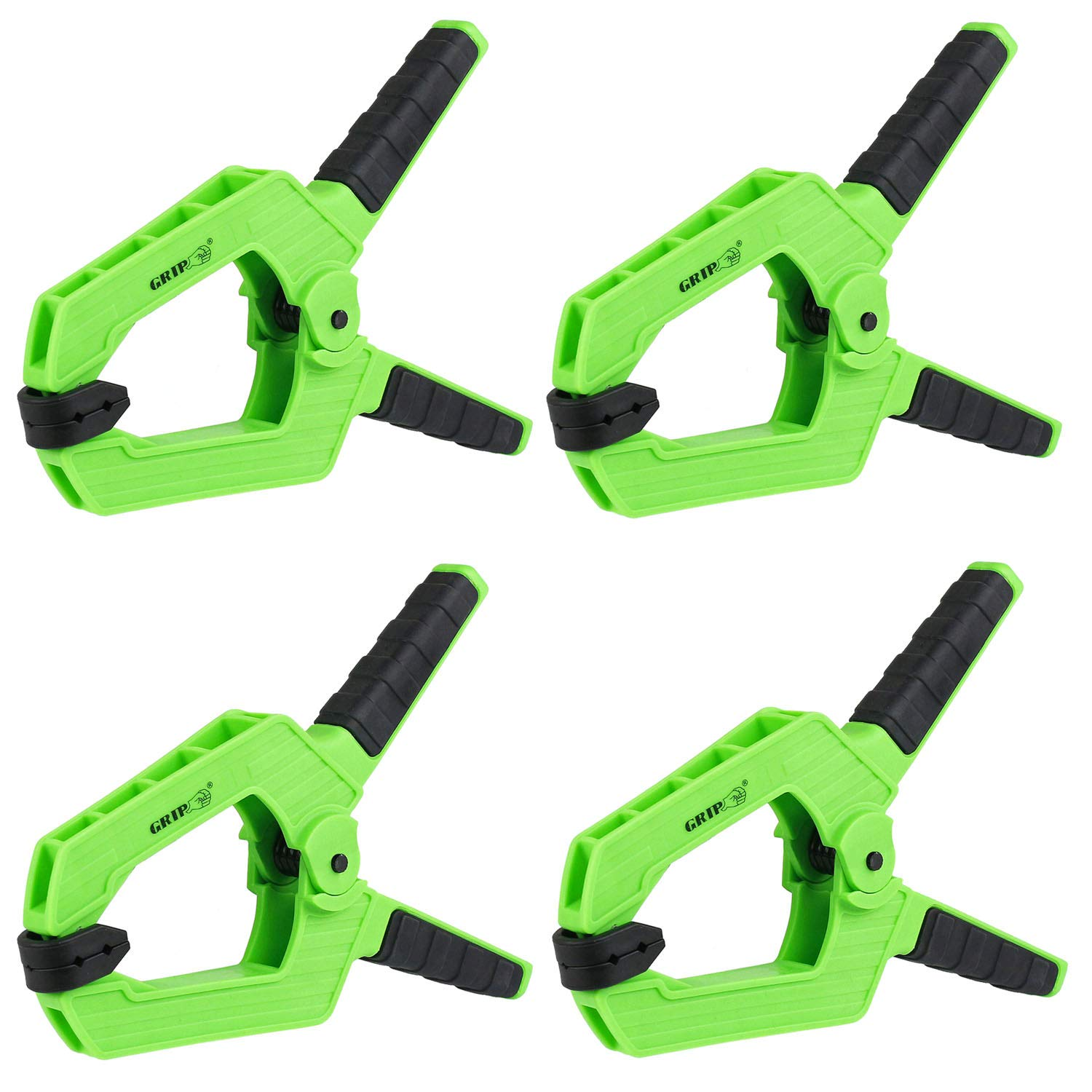4 Pack Heavy Duty 9'' Spring Clamps Thermoplastic Anti-Slip Grip Tools 34009