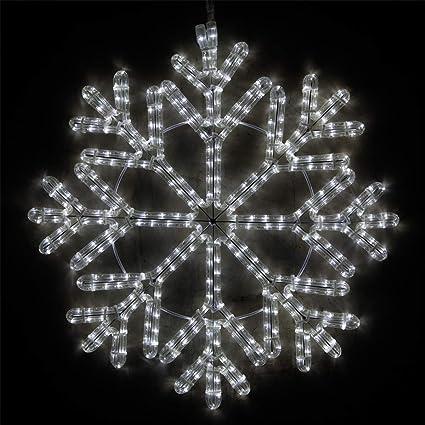 Wintergreen Lighting LED Snowflake Light Christmas Decorations Outdoor  Snowflake Christmas Lights, Christmas Snowflake, LED - Amazon.com : Wintergreen Lighting LED Snowflake Light Christmas