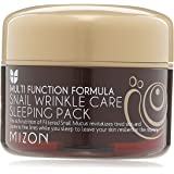 Mizon Cosmetics Snail Wrinkle Care Sleeping Pack, 2.7 Fluid Ounce