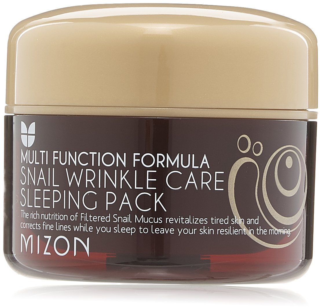 MIZON - snail wrinkle care sleeping pack - anti wrinkle - multi function formula 0000-05811