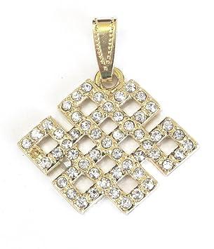 Bejeweled mystic knot pendant amazon welcome bejeweled mystic knot pendant mozeypictures Image collections