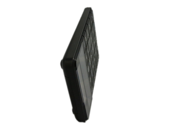 Ultron UN-1 101194 - Teclado numérico inalámbrico con la función de calculadora de bolsillo (2.4 GHz, bloque numérico integrado, panel solar), color negro: ...