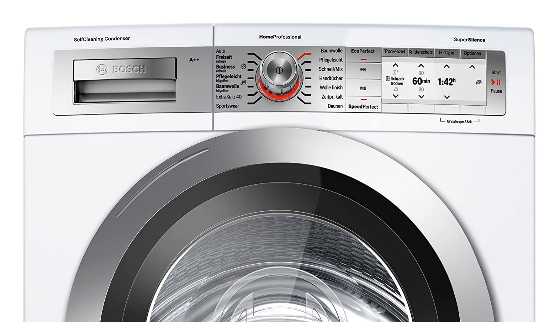 Bosch wty d wärmepumpentrockner a kg weiß selfcleaning