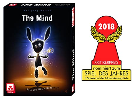 Nürnberger Spielkarten nsv – 4059 – The Mind – Juego de Cartas