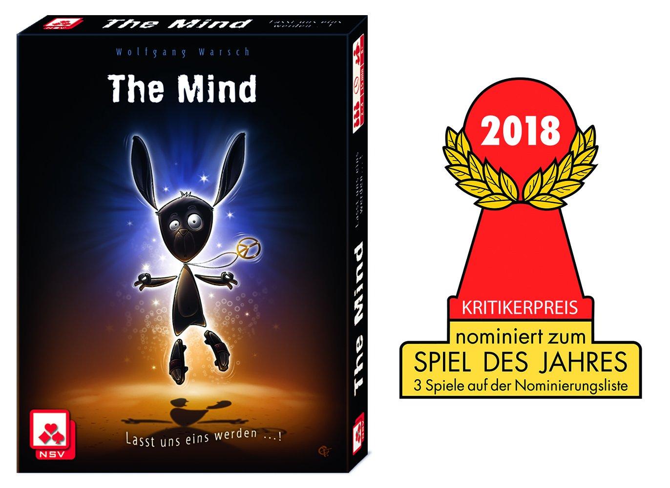 Nürnberger Spielkarten Verlag NSV–4059–The Mind–Card Game - 71pN3uKlSjL - Nürnberger Spielkarten Verlag NSV–4059–The Mind–Card Game