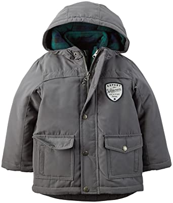 Amazon.com  Carter s Little Boys  4 In 1 Systems Jacket (Toddler Kid)   Clothing 3cec29f72