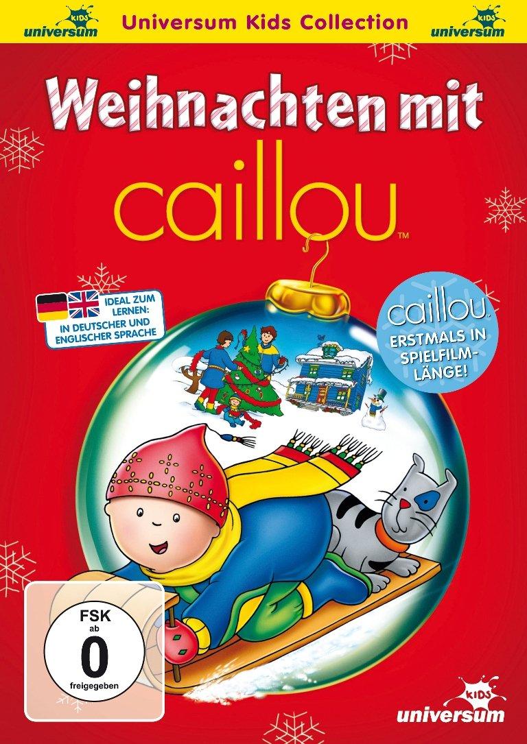 Caillou Weihnachten.Dvd Weihnachten Mit Caillou Amazon Co Uk Dvd Blu Ray