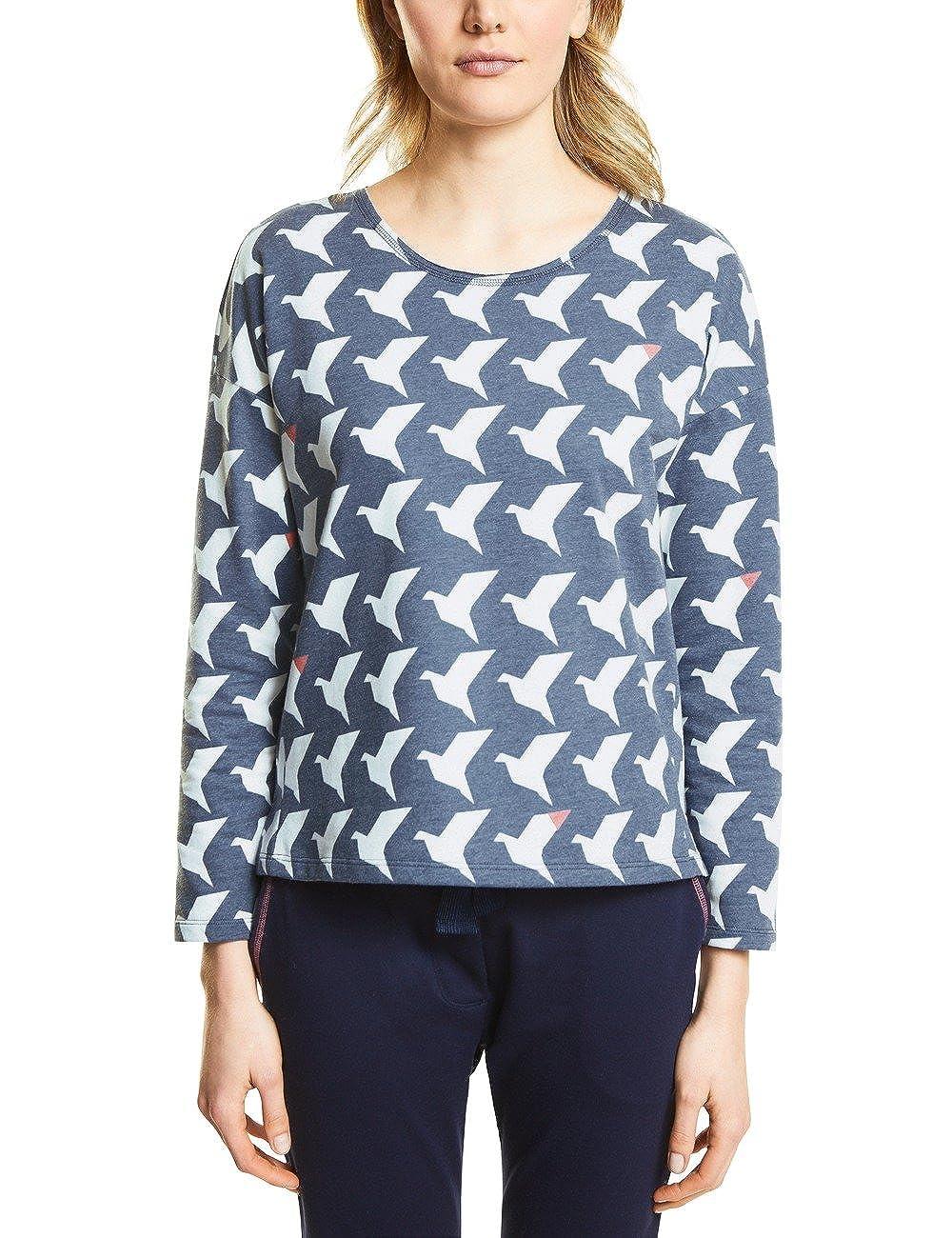 shirt Blue Sweat 300532 Femme 44 31151 evening Street One Multicolore qHtwWZ