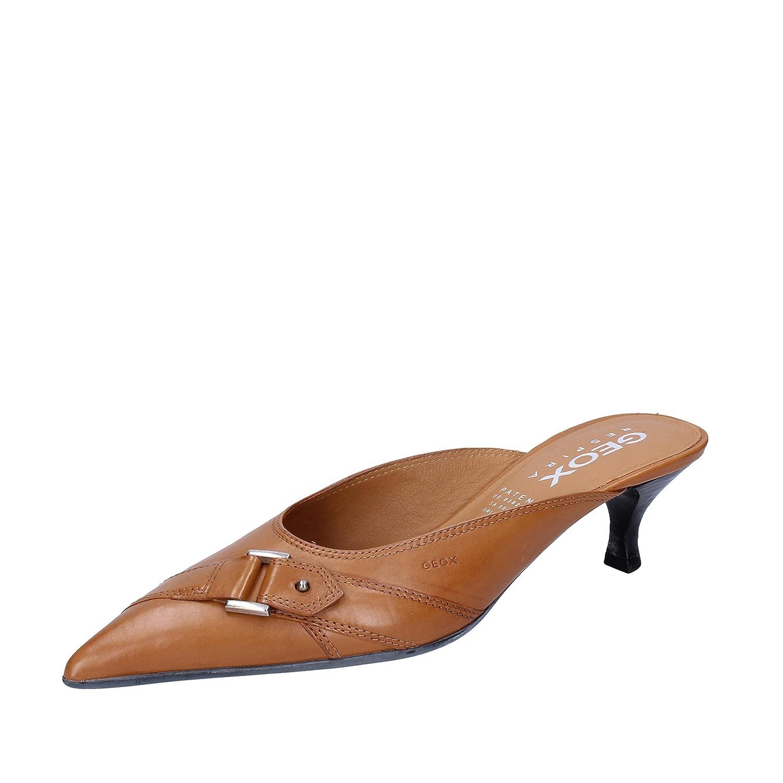 Marron 35 EuChaussures Sandales Cuir Geox Femme 8kwPn0O