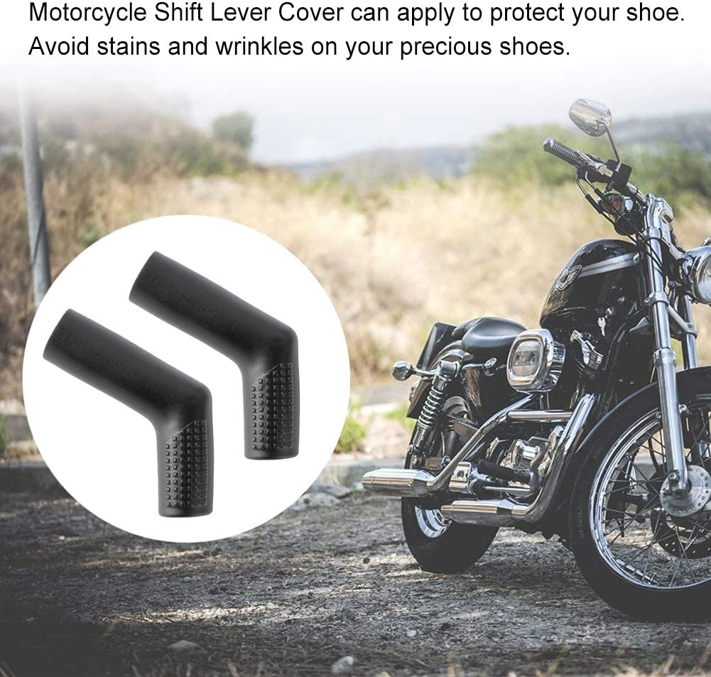 Cubiertas Piezas Repuesto Moto 6 Piezas Marcha Funda Cambio Zapato Protectores Cubierta Protectora para Palanca de Cambios de Motocicleta