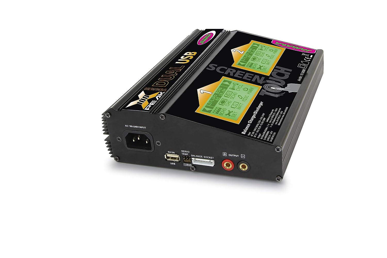 Jamara 153090 - Ladegerät Ladegerät Ladegerät X-Peak 100 Touch Dual USB 626bd1