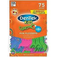 75-Count DenTek Fun Wild Fruit Floss Picks Flossers