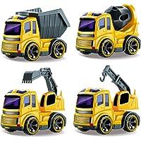BeebeeRun Coche Juguete,Vehículos Construcción,Coches Camiones Juguetes 2 Años