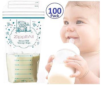 Amazon.com: Bolsas de almacenamiento de leche materna a ...