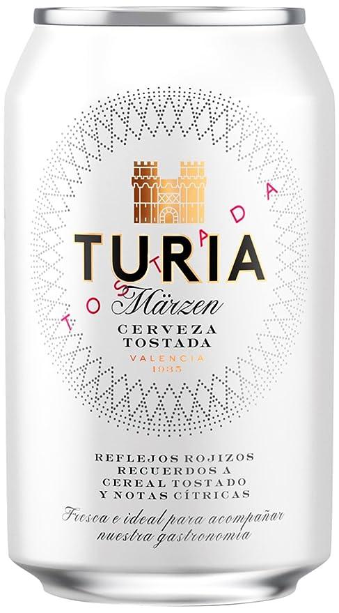 Turia Marzen Cerveza - Lata de 330 ml - Total: 0.33 L