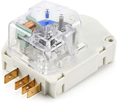Refrigerator Defrost Timer Replacement for 215846602 Fit for Frigidaire Refrigerator Replace 215267800 215846605 5300187484 5300628518