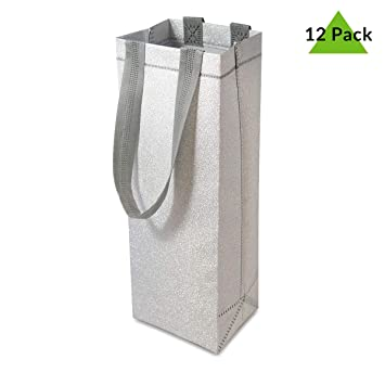 Amazon.com: 12 bolsas de regalo de papel de alta calidad con ...