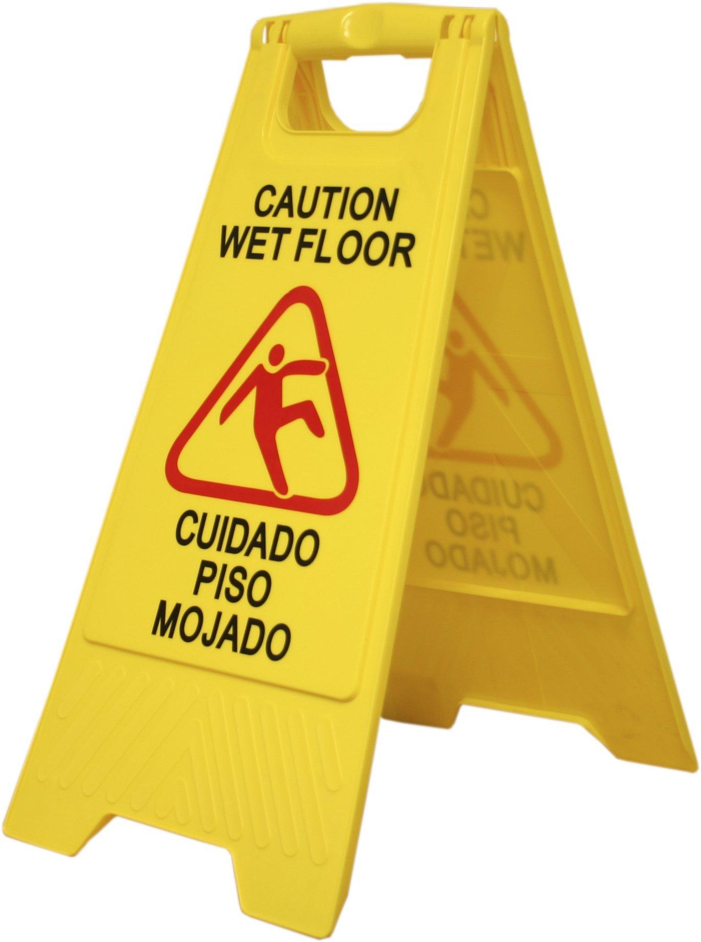 MW Polar Warning Floor Sign