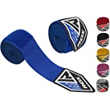 RDX Boxing Hand Wraps Inner Gloves for Punching - Great Protection for MMA, Muay Thai, Kickboxing, Martial Arts Training…