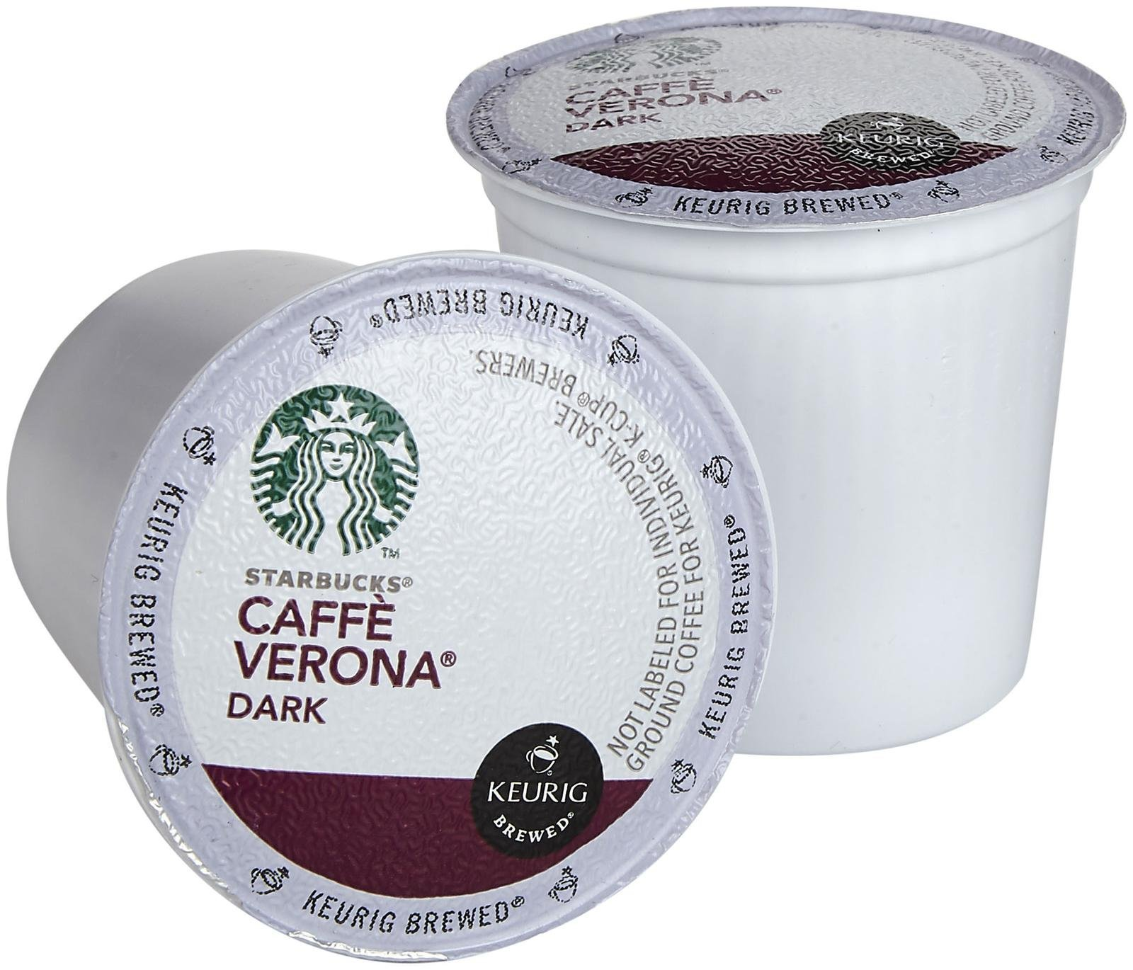 Starbucks Cafe Verona Coffee Keurig K-Cups, 16 Count by Starbucks