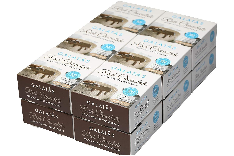 Estuche de 12 quesos de chocolate rico de baja calorías ...