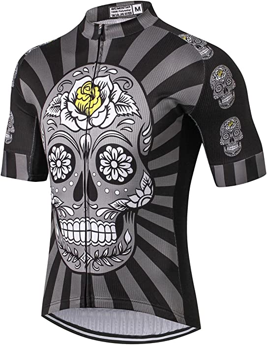 Men s Cycling Jersey Mountain Bike Jerseys for Men Bicycle Shirt Tops  Clothing b486a7fc0