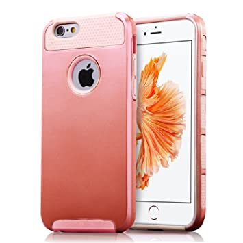 Technext020 – Carcasa para iPhone 6S, oro rosa, iPhone 6S/iPhone 6
