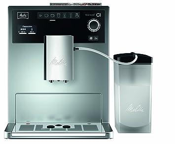 Melitta CAFFEO Ci, Plata-Máquina de café, 1500 W, 1.8 litros, 15 Decibeles: Amazon.es: Hogar