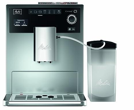 Melitta CAFFEO Ci, Plata-Máquina de café, 1500 W, 1.8 litros
