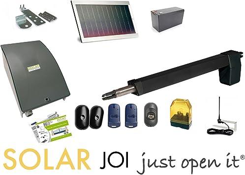 Motorizaciòn Solar para puerta batiente 1 hoja DUCATI: Amazon.es: Bricolaje y herramientas